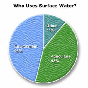 Surface water PieChart