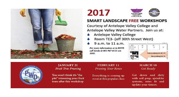 AVC Free Smart Landscape Workshops