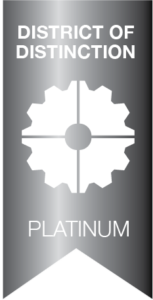 District Of Distinction Platinum Badge